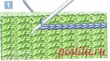 Соeдинительные швы крючком