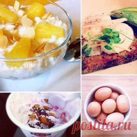 10 самых полезных завтраков, за которые организм скажет вам спасибо.