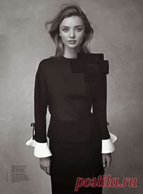 Miranda Kerr and Flynn Bloom for Vogue Australia by Nicole Bentley — Модно / Nemodno
