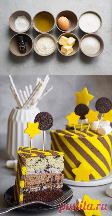 """La torta fantástica \""""la Fiesta\"""" — mejor de todos los mundos. La Clase maestra de Аndy chefа"""