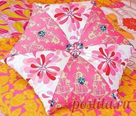 Шьем подушку-звезду (Шитье и крой)   Журнал Вдохновение Рукодельницы