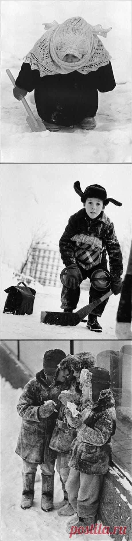 Кадры из удивительного советского детства