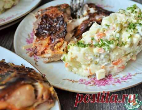 Чешский картофельный салат – кулинарный рецепт