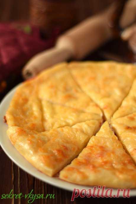 Хачапури с сыром (по-мегрельски) |