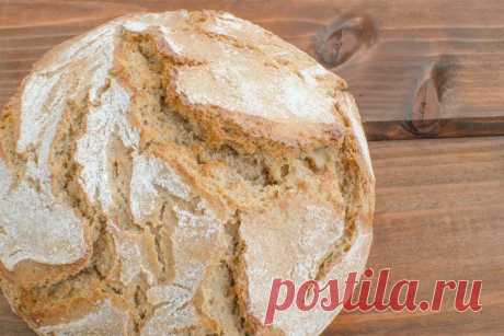 Рецепт бездрожжевого домашнего хлеба на кефире, ароматный и мягкий