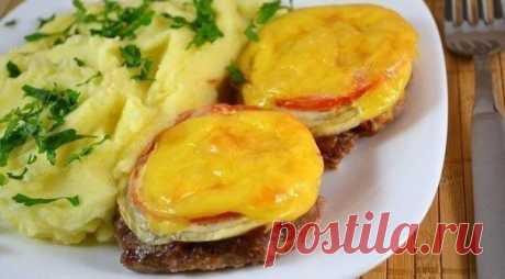 Котлеты в духовке с овощами и сыром / IPv2 - Глобальная информация