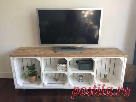 Красивая мебель из деревянных ящиков (трафик) / Мебель / ВТОРАЯ УЛИЦА
