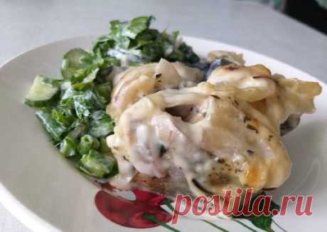 (13) Скумбрия, запечённая в майонезе, с салатом из зелени - пошаговый рецепт с фото. Автор рецепта Zhanna Kokhan . - Cookpad