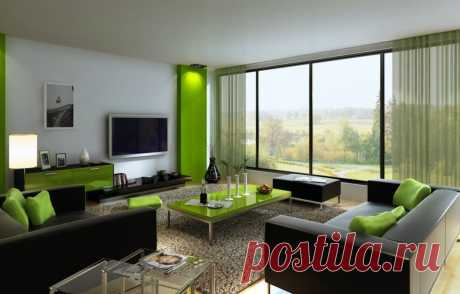 Зеленый цвет в фотографиях интерьеров - как и с чем сочетать мебель и обои узнайте на сайте Stone Floor в Туле  #зеленыйинтерьер#зеленыйпалитры#счемсочетатьзеленый#Тула#Stonefloor