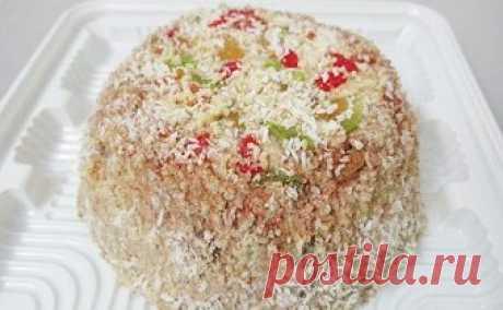 """Торт для худеющих """"Мишкин подарок"""". Рецепт с пошаговыми фото"""
