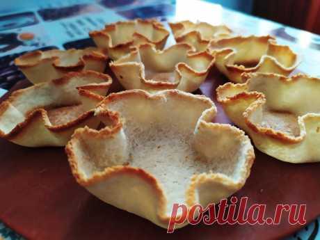 Готовлю из хлеба корзиночки-тарталетки за 5 минут: вкуснее чем в магазине   Домсоветы   Яндекс Дзен