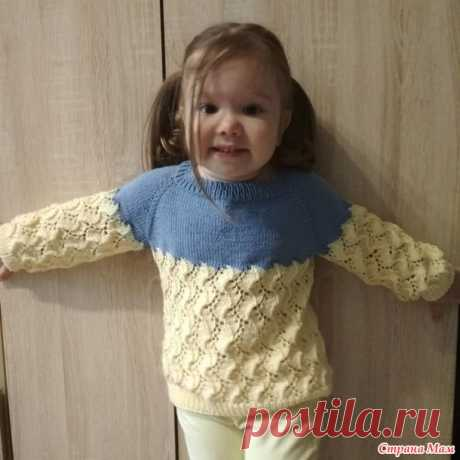 Джемпер для дочки - Вязание для детей - Страна Мам