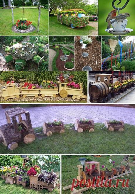 Las ideas para el jardín