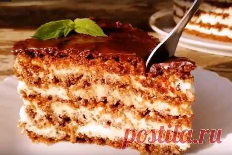 """Торт без выпечки """"Тающая загадка"""", который станет вашим любимым десертом - Рецепты для дома Добрый день, дорогие гости канала! Сегодня мы с вами приготовим потрясающий и нежный торт без выпечки! Очень вкусный, просто таящий во рту! Уверена, этот десерт станет вашим любимым! Дети и ваши домашние гарантированно будут в восторге! Настоящее райское наслаждение к чаю! Обязательно читайте этапы приготовления до конца! Там расписаны все нюансы. Остались вопросы — задавайте. […]"""