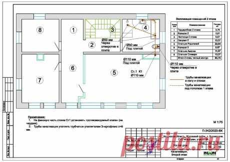 Проект отопления частного дома, пример 1428