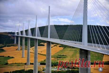 Самый высокий мост в мире: Милло во Франции