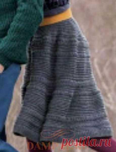 Вязаная юбка «Клотильда» — HandMade