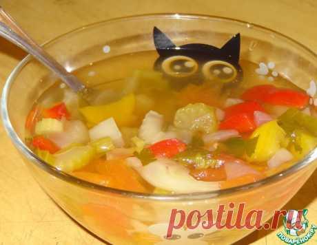 """Сельдерейный суп """"Стройность"""" – кулинарный рецепт"""