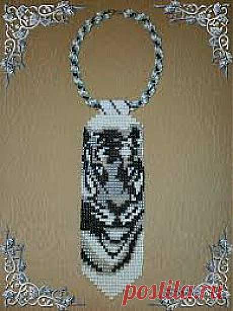 схема бисером белый тигр - Поиск в Google