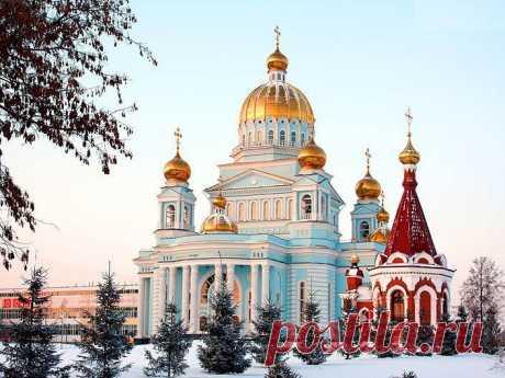 Кафедральный собор св. праведного воина Феодора Ушакова - туристский портал Мордовии