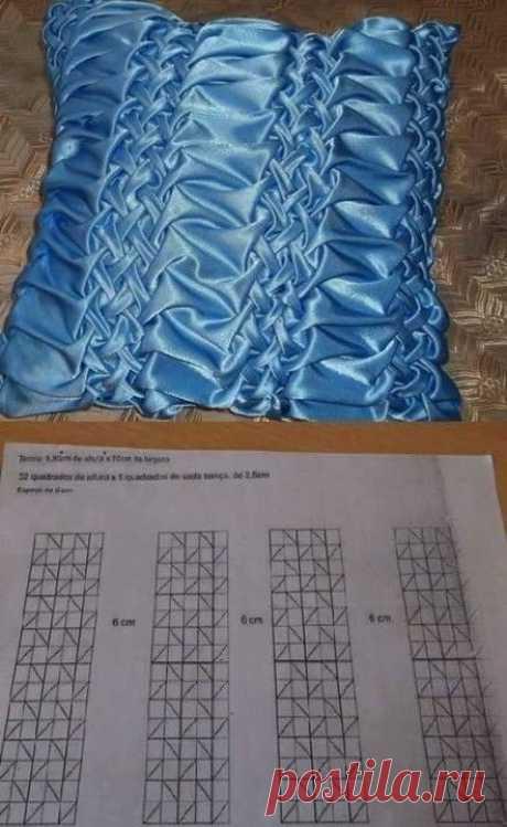 Подушки с буфами
