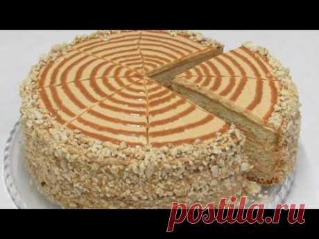 """Вот КАКОЙ торт приготовлю на НОВЫЙ ГОД!!! Конкурент Наполеона и Медовика - Шикарный Торт """"МАРКИЗА"""""""