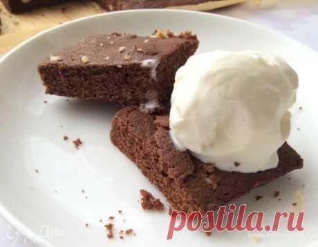 Шоколадный брауни, пошаговый рецепт, фото, ингредиенты - @mono.cook