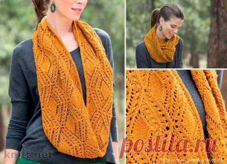 """Openwork snud """"Tanner Cowl"""" the hands!"""