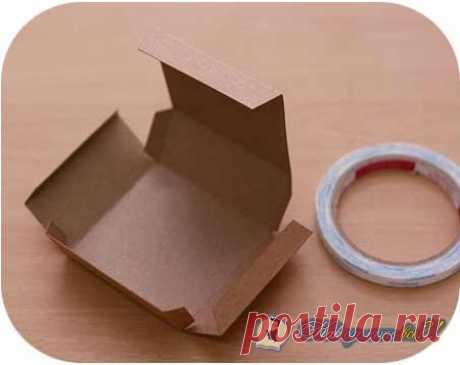 Как сделать коробку из листа бумаги? Фото. Видео. Инструкция