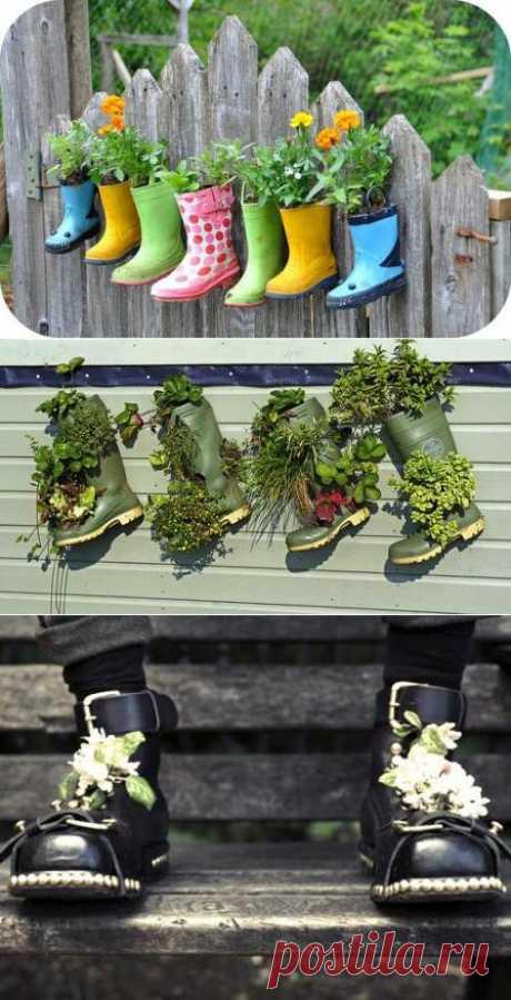 Необычное использование обуви