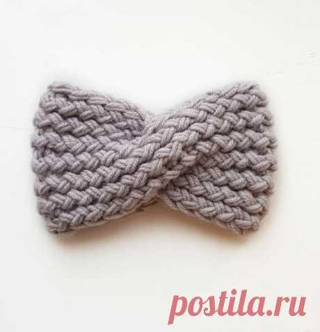 Интересные узоры-плетенки для весенних повязок на голову