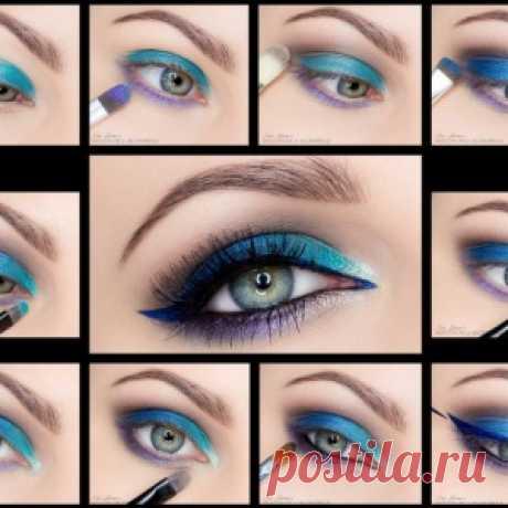 Пошаговое руководство по макияжу глаз - МирТесен