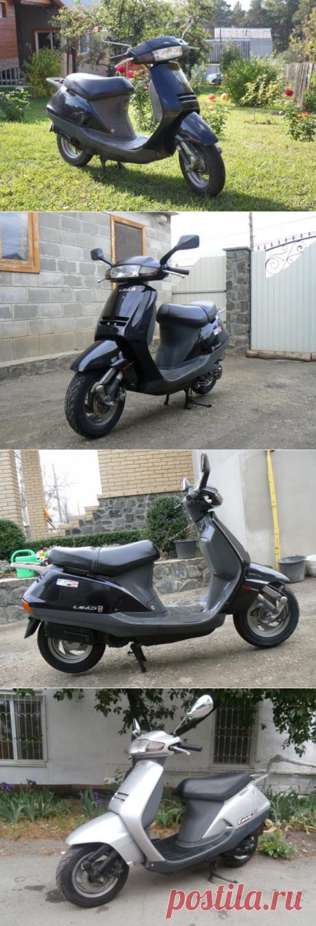Скутер Honda Lead AF 20 [обзор] Характеристика, цена и отзывы