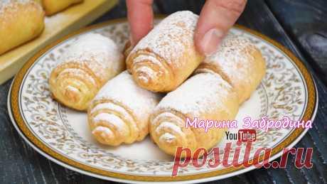 Немного Творога, муки и изумительно вкусное Печенье уже на Вашем столе! 💕 | Марина Забродина | Яндекс Дзен