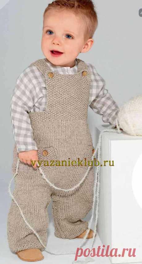Комбинезон для малыша от 0 до 18 месяцев - Комбинезоны для детей - Каталог файлов - Вязание для детей