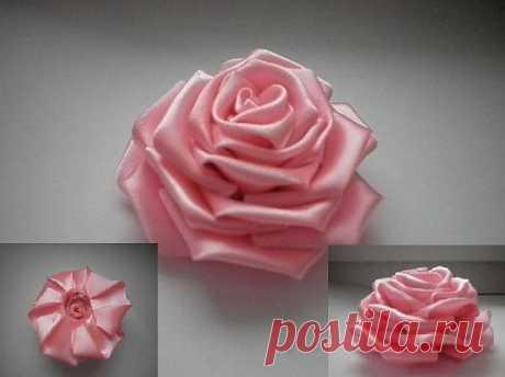Роза - канзаши.