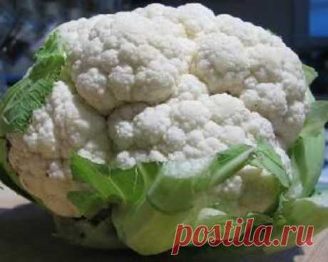 Как правильно готовить цветную капусту?