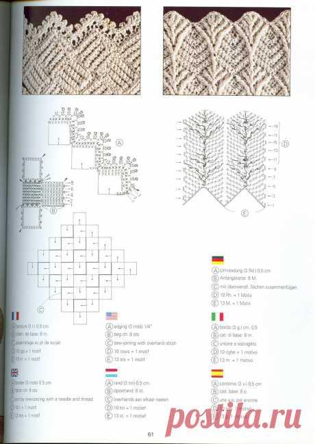 Уникальная книга по вязанию из серии DMC. Creations Crochet D'or (В исходном размере).