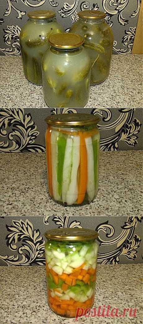 Вкусный Огород: Заготовки из огурцов на зиму