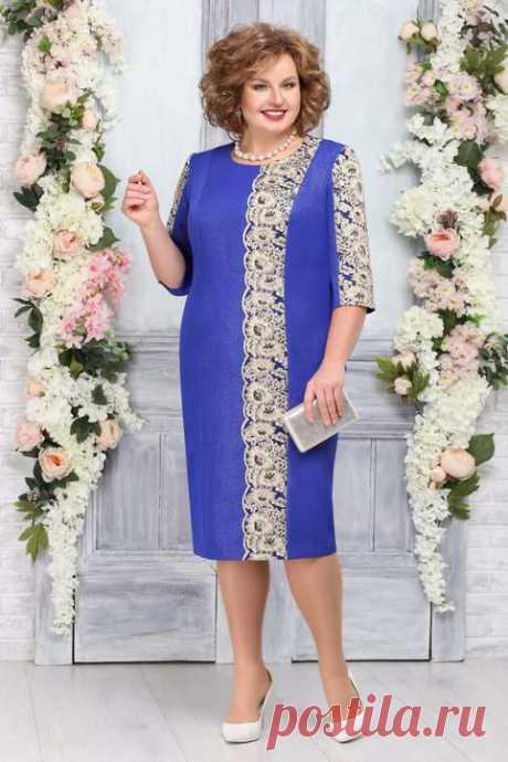 Потрясающие платья для полных женщин белорусского бренда Ninele весна 2020