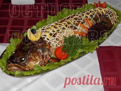 Рыба в духовке с овощами: рецепты с фото пошагово