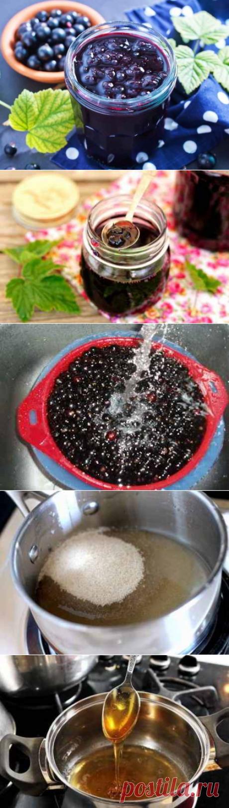 Заготовки на зиму: варенье из черной смородины!