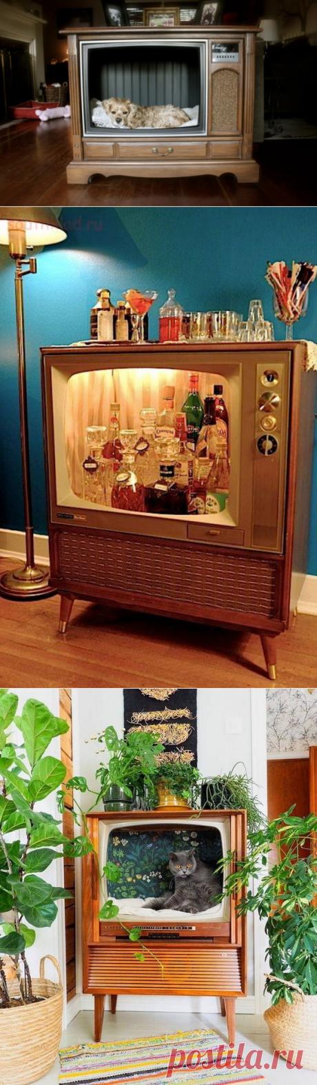 10 удивительных переделок старого телевизора