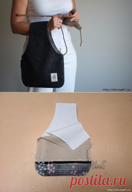 Эксклюзивная сумочка для рукодельниц — Сделай сам, идеи для творчества - DIY Ideas