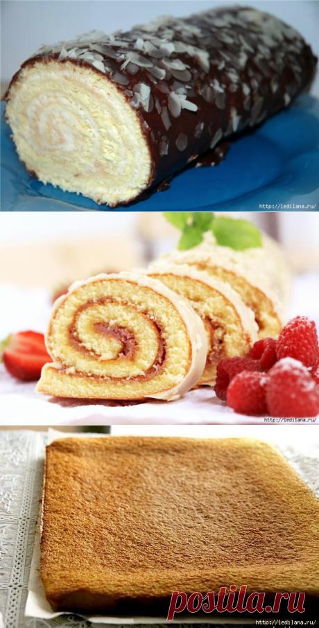 Рецепт очень удачного бисквита
