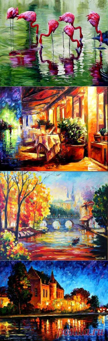 """Картины Даниэля Уолла в стиле """"интенсивный импрессионизм"""""""
