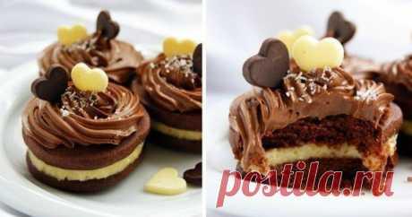 Шоколадное печенье с кокосовым кремом. Вкус не передать словами!