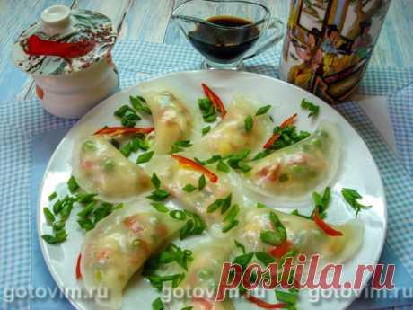Прозрачные китайские пельмени. Рецепт с фото / Готовим.РУ