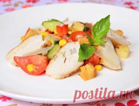 Salad Edelweiss chicken paprika tomatoes