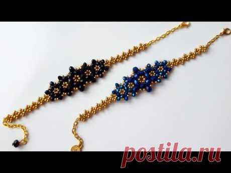 Легкое и стильное изготовление браслетов / / Easy Bracelet Making #Tutorial